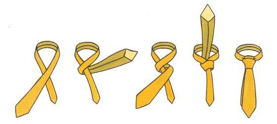Как красиво завязать галстук - простые способы
