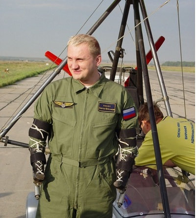 Сергей Бурлаков: Человек планеты из Таганрога