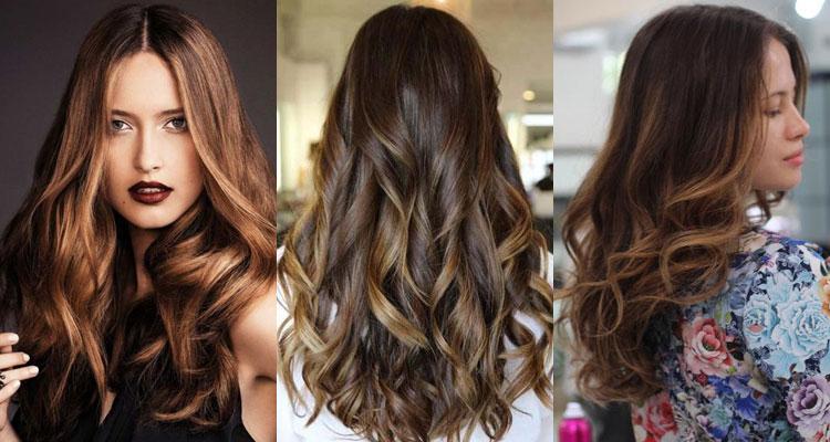 Окраска волос балаяж: особенность и виды