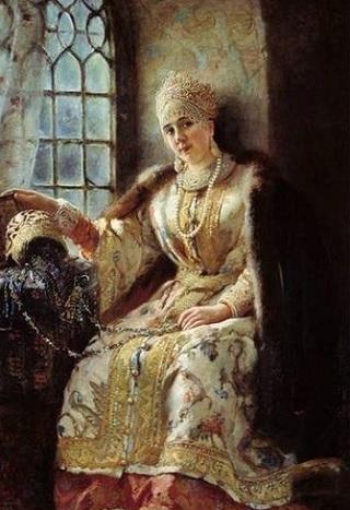 Иван Грозный и его жены: Анастасия Романовна Захарьина-Юрьева