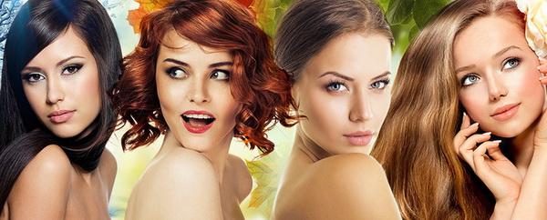 Как определить характер по цвету волос