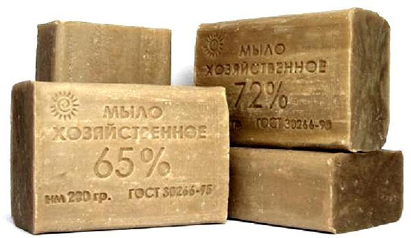 khozjajstvennoe_mylo Хозяйственное мыло - полезные свойства и вред, применение в народной медицине и косметологии
