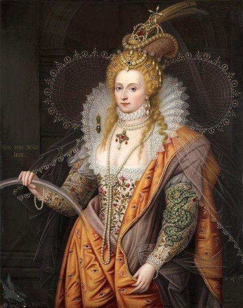 Елизавета Английская - знаменитая королева-девственница