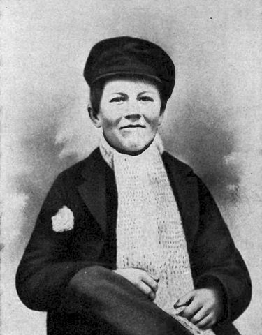 Томас Эдисон в детстве