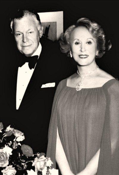 Эсте Лаудер с мужем