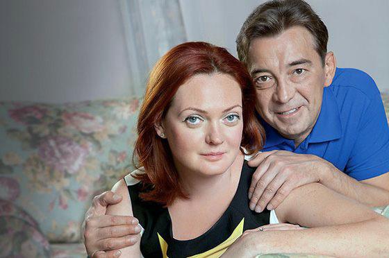 Николай Добрынин с женой