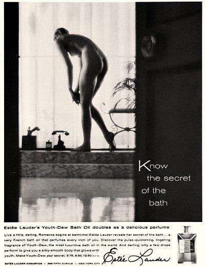Реклама масла Есте Лаудер