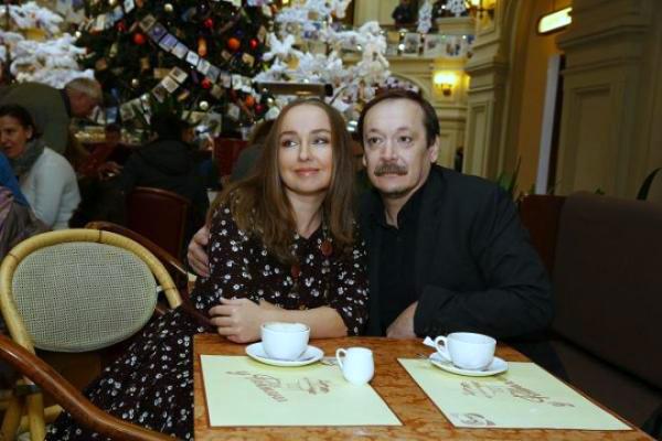 Владислав Ветров с женой