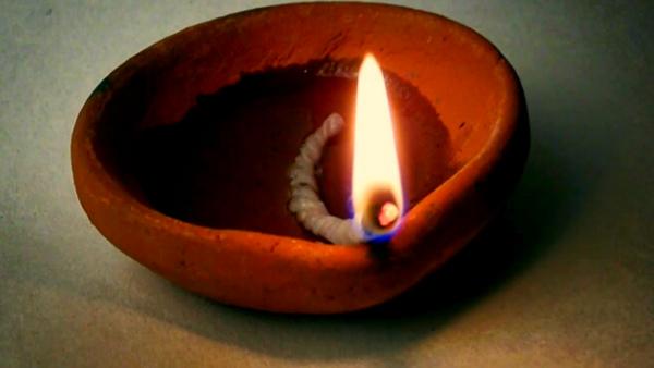 древняя свеча