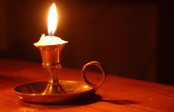 Старинная свеча