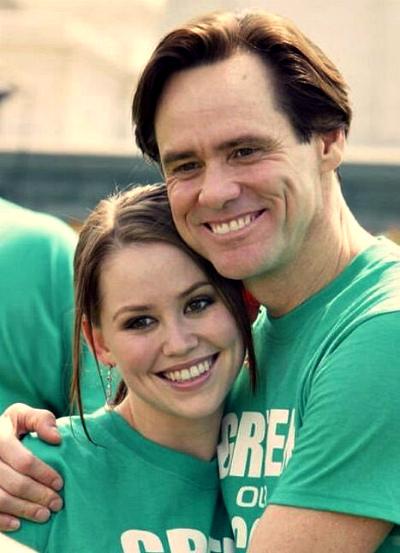 Джим Керри с дочерью