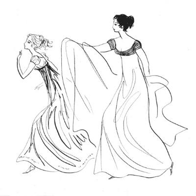 Татьяна и Ольга Ларины
