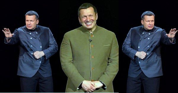 Владимир Соловьев на ТВ