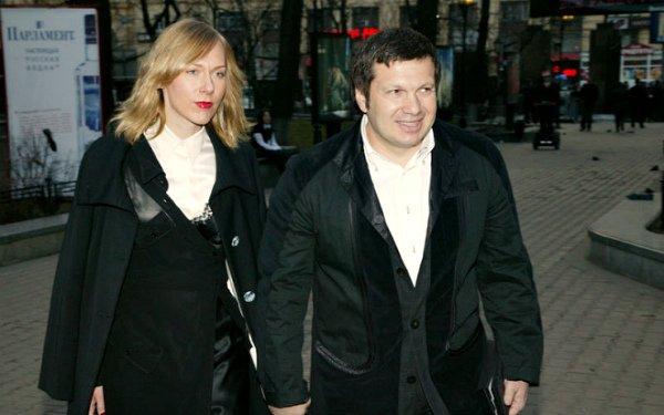 Владимир Соловьев с женой