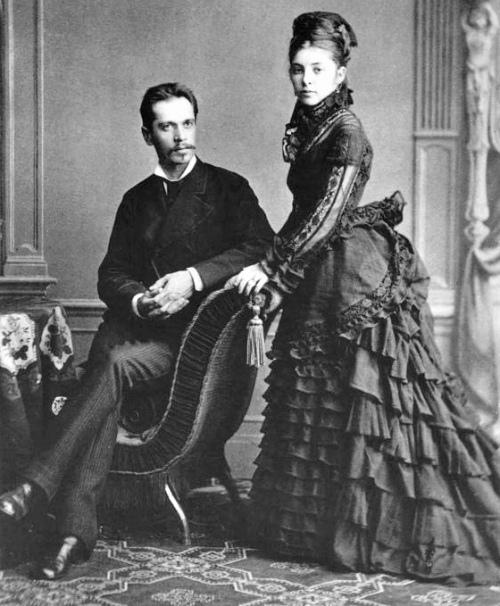 Родители Игоря Стравинского