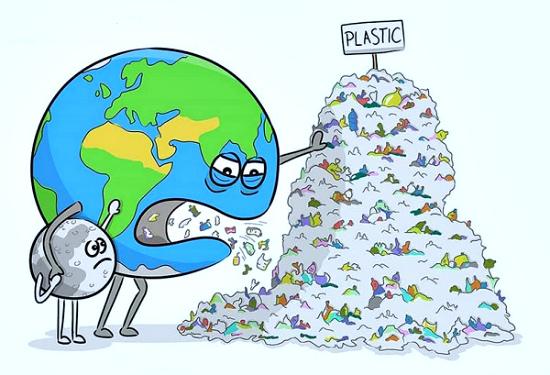 загрязнение экологии: пластик