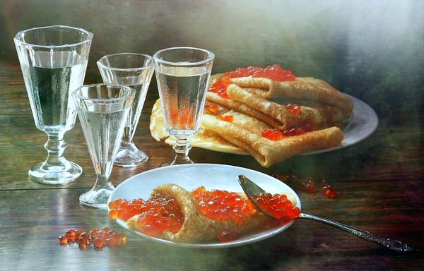 закуска к водке