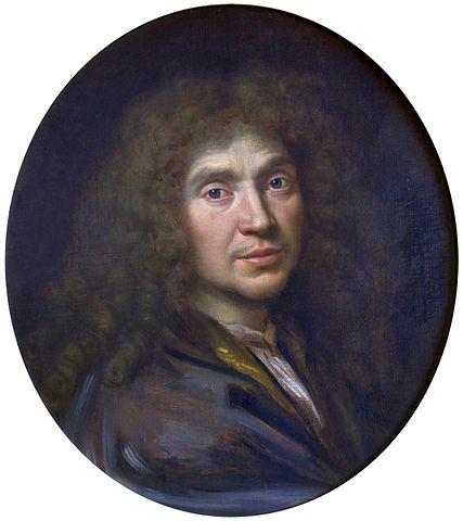 Портрет Мольера кисти Пьера Миньяра, 1658 год