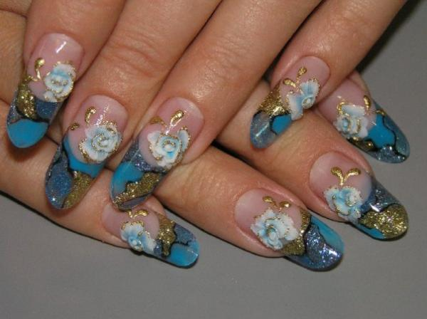 Расписные ногти -моветон