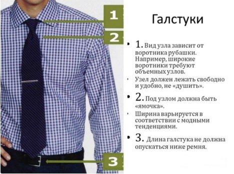 Как красиво завязать галстук - простые способы. как правильно завязать галстук образец