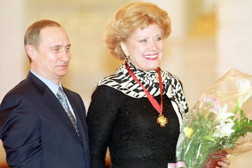 Елена Образцова: личная жизнь певицы. Путин и Образцова