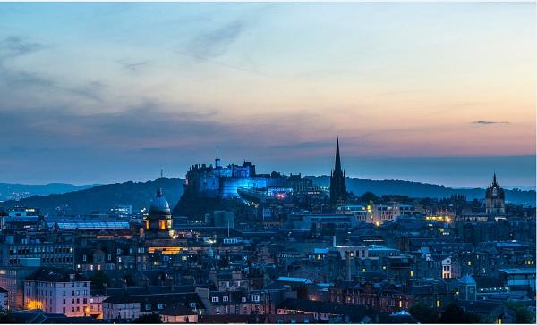 Эдинбург-столица Шотландии
