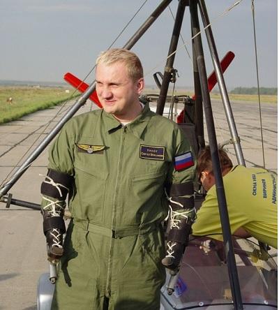 Сергей Бурлаков: Человек планеты