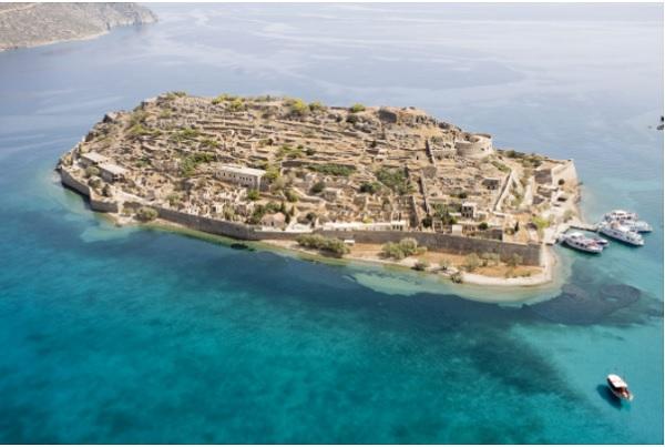 Остров прокаженных в Греции